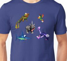 Donkey Kong Country - Animal Companions Unisex T-Shirt