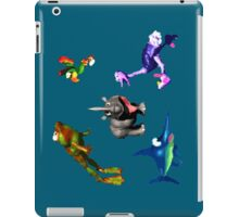 Donkey Kong Country - Animal Companions iPad Case/Skin