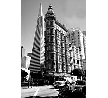New Meets Old (San Francisco Photographic Print