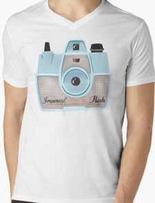 Vintage Camera - Blue T-Shirt