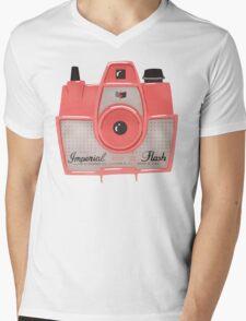 Vintage Camera - Red T-Shirt