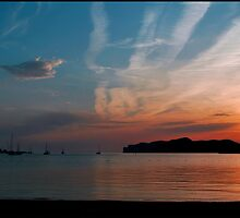 Santa Ponsa Sunset by Paul  McIntyre