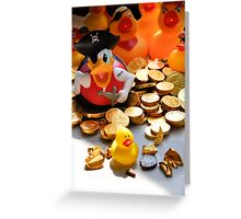 Maurice... where did you say you found that treasure? Greeting Card