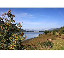 Loch Leven from Ballachulish. Photographic Print