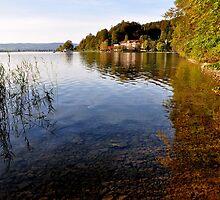 Lake Kochelsee Germany by Daidalos