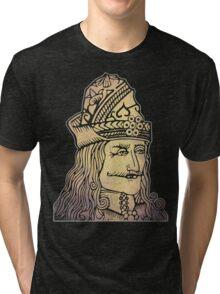 Vlad The Impaler (Dracula) Tri-blend T-Shirt