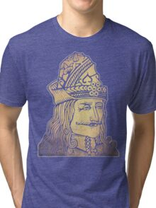 Vlad The Impaler (Dracula) Tri-blend T-Shirt