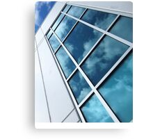 Reflections Of A Sunlit Sky Canvas Print