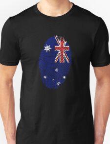 Australian fingerprint flag T-Shirt