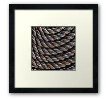 Spiral fractal (2) Framed Print