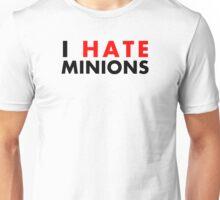 I Hate Minions - Black Clean Unisex T-Shirt