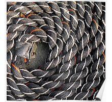 Spiral fractal (3) Poster