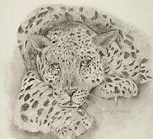 Leopard by Sharole Ewing