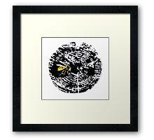 Tree Ring Wasp Framed Print