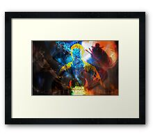 Who do you believe in? Framed Print