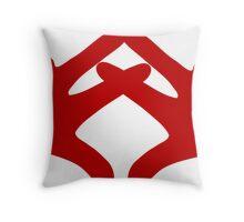 AXO HANDS RED Throw Pillow
