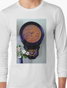 The Olde Dogwood Clock Long Sleeve T-Shirt