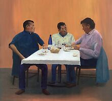 Table For Three by Peter Worsley