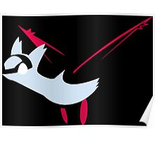 pokemon latios latias anime manga shirt Poster