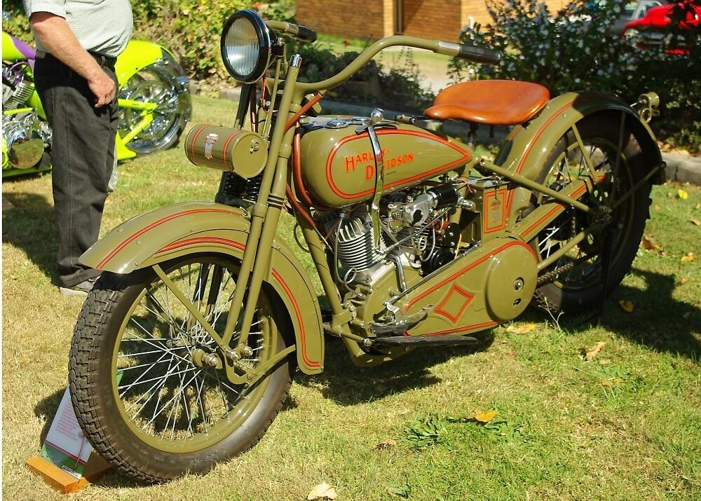 1926 JD Harley Davidson by TGrowden
