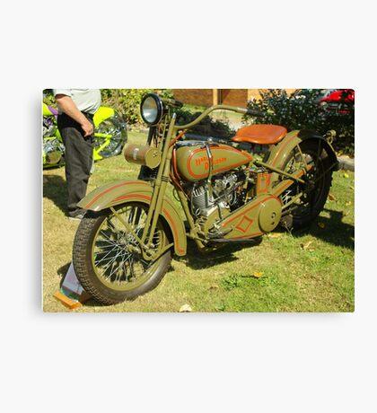 1926 JD Harley Davidson Canvas Print