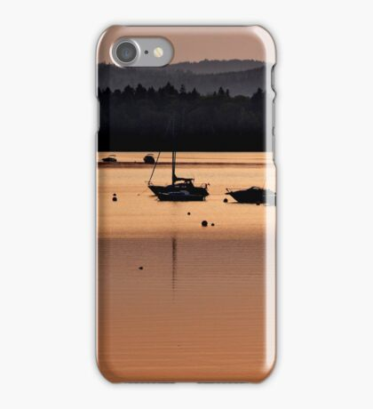 Summer Sunset at Meenan's Cove iPhone Case/Skin