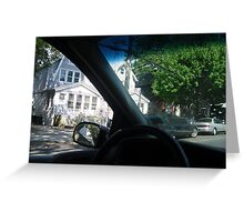 DRIVE BY Greeting Card