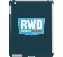 geek - responsive web design iPad Case/Skin
