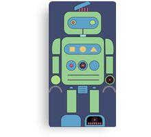 Green Robot Canvas Print