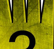 Journal Three Sticker