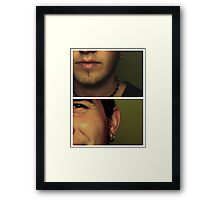 smile, do you remember my name? Framed Print