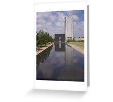 Oklahoma City Peace Greeting Card
