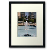 Downtown OKC Framed Print