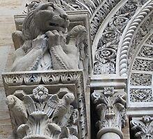 Gargoyle on St. John Nepomocene Church by Patricia127