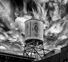 The Water Tower by darkmatterart