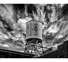 The Water Tower Photographic Print