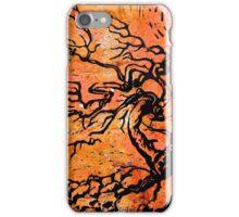 Old and Ancient Tree - Orange Tones  iPhone Case/Skin