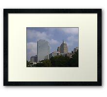 OKC Skyline from the Myraid Gardens Framed Print