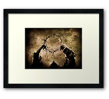 Controlling Adversity Framed Print