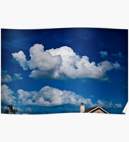 Cloudy Skys Poster