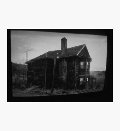 the house in the middle of nowhere. Photographic Print