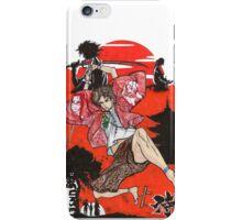 Samurai Champloo Transparent Ver iPhone Case/Skin