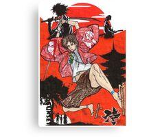 Samurai Champloo Transparent Ver Canvas Print