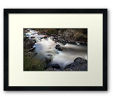 """Looking down"" Framed Print"
