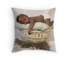 Sleeping Trey Throw Pillow