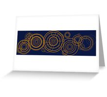 Gallifreyan Symbol  Greeting Card