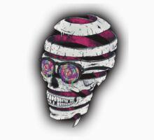 Psychedelic Skull  One Piece - Short Sleeve