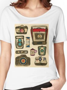 The History of the Camera Women's Relaxed Fit T-Shirt
