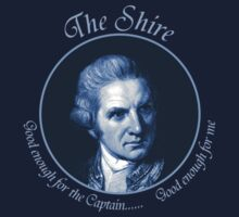 Good enough for The Captain... Good enough for me by shireshirts