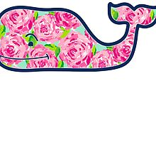 Whale with Roses by etoile5